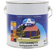 Oaf systeembeits donkerbruin 750ml