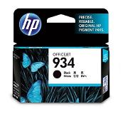 HP 934 Black Original Ink Cartridge Zwart inktcartridge