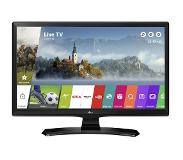"LG 24MT49S LED TV 61 cm (24"") HD Smart TV Wi-Fi Zwart"