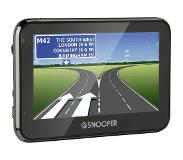 "Snooper Truckmate S2700 Handheld/Fixed 4.3"" LCD Touchscreen Zwart navigator"