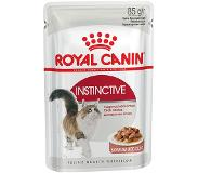 Royal Canin 4 kg Royal Canin + 24 x 85 g Royal Canin in Saus Kattenvoer - Exigent 35/30 + Instinctive in Saus