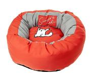 Flamingo Simons cat bed rood 46x17 cm