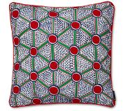 HAY Embroidered Cushion Cells 50 x 50 cm