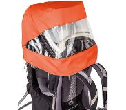 Vaude Shuttle Zon-/Regenhoes Combinatie, orange 2019 Kinderdragers