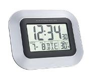 Technoline WS 8005 Radio controlled wall clock Zwart, Zilver