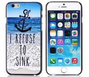 Carryme I Refuse To Sink hardcase hoesje iPhone 6 / 6s