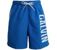 Calvin klein swimwear CALVIN KLEIN BOYS MEDIUM DRAWSTRING ZWEMSHORT ELECTRIC BLUE LEMONADE (Blauw, 134-140)