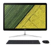 "Acer Aspire U27-880 2.5GHz i5-7200U 27"" 1920 x 1080Pixels Zwart, Wit Alles-in-één-pc"