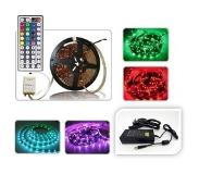 ABC-led - Led strip - 5 m - RGB - Plug & play 24V Non-Waterproof - incl. 24 Key controller