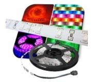 ABC-led LED strip RGB 1 meter Plug & Play waterproof