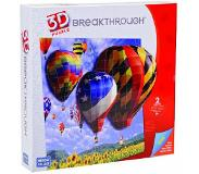 Mega Puzzles - 3D Breaktrough Hot Air Balloons - Moderate - Level 2 - 50669EAG