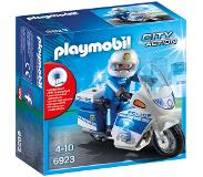 Playmobil City Action politiemotor met LED-licht 6923