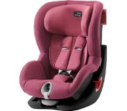 Britax Autostoel King II Black Series Wine Rose - Roze/lichtroze