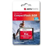 Agfaphoto Compact Flash, 8GB flashgeheugen CompactFlash