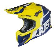 JUST1 Helmet J12 Unit Blue-Yellow 58-M