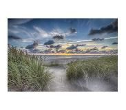 Alex F Fotografie Foto op Canvas, Summer Beach small (80x50cm)