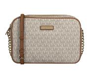 Michael Kors Jet Set Travel Dames Crossbodytas - Vanilla