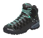 Salewa Alp Trainer Mid GTX Schoenen Dames, black out/agata 2019 UK 4,5 | EU 37 Trekking- & Wandelschoenen