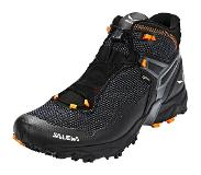 Salewa Ultra Flex Mid GTX Schoenen Heren, black/holland 2019 UK 8,5 | EU 42,5 Trekking- & Wandelschoenen