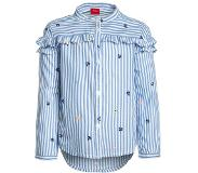s.Oliver Girl s blouse blauw aop