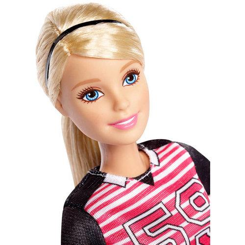Barbie Made To Move Voetbalster Barbiepop