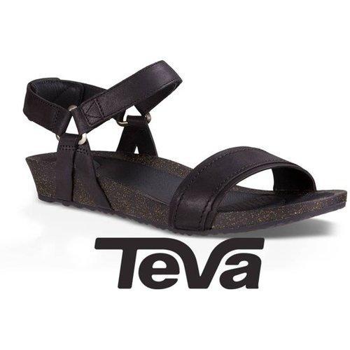 Maat Teva Ysidor Sandaal Sandal Zwart Dames 38 Stitch lFJTKc1