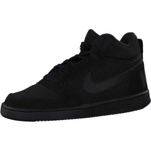 Nike Sportswear Court Borough Mid (GS) Sneakers Kids Maat 38.5 Zwart